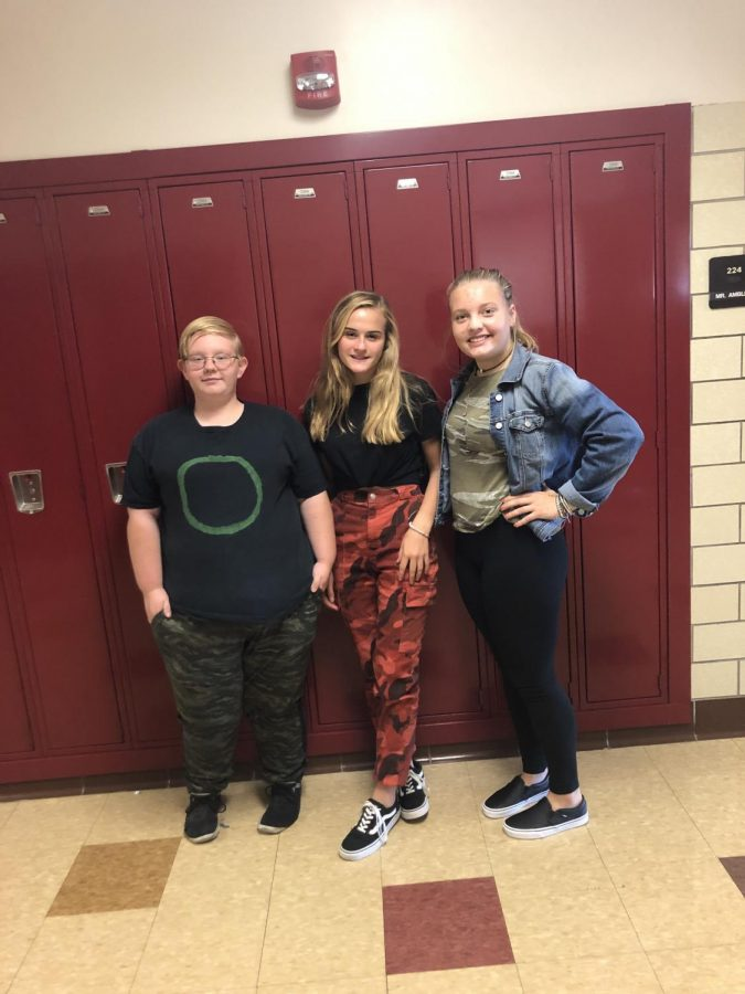 Students have fun participating in Spirit Days leading up to homecoming.