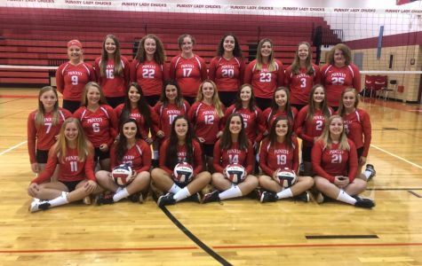 Lady Chucks volleyball team looking ahead to second half of season