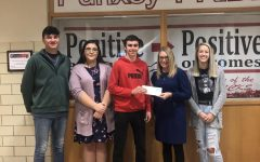 PAHS Student Council and Band donate to local organizations