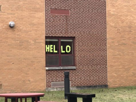 "The very first ""hello""."