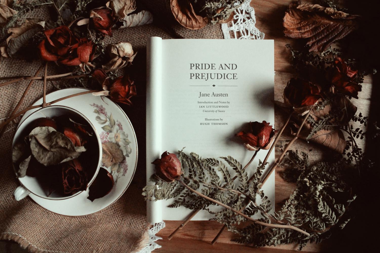 Hardin and Tessa argue in class over the representation in Jane Austen's Pride and Prejudice.