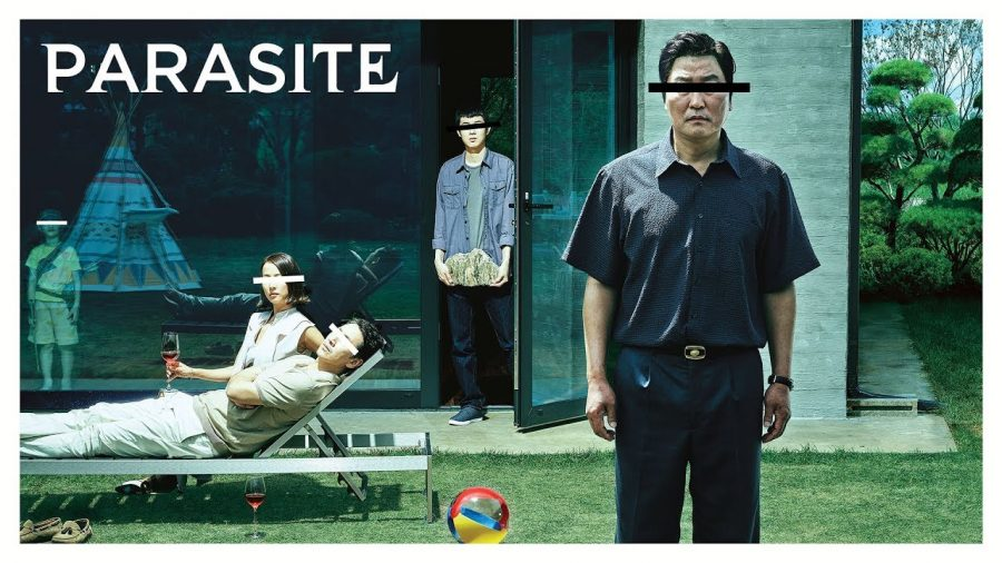 Cover art for Parasite.