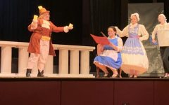 Senior Jenna Diem assumes the role of Belle in Music Theater's production of