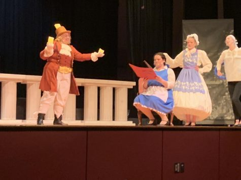 Senior Jenna Diem assumes the role of Belle in Music Theater