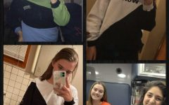 Some of Hanley's customers sent her pictures of them enjoying their new crewnecks.